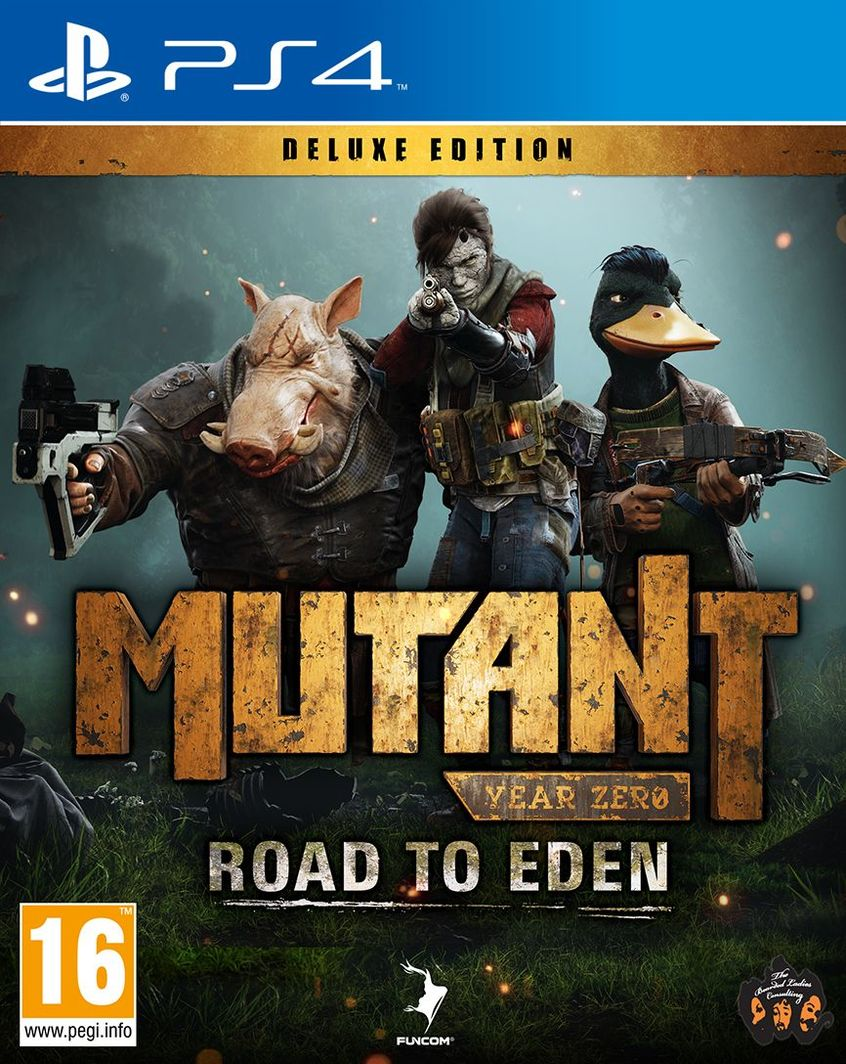 Mutant Year Zero Road to Eden Deluxe