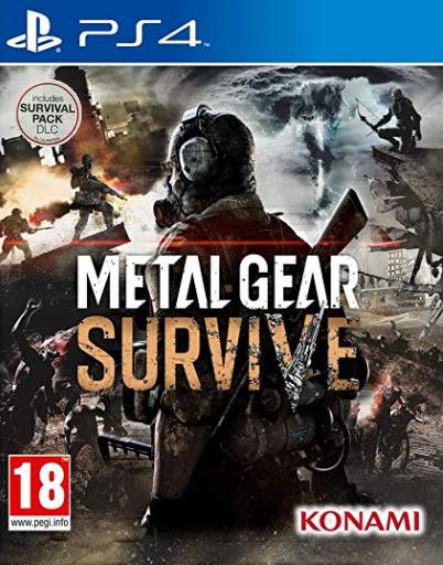 Metal Gear Survive + DLC