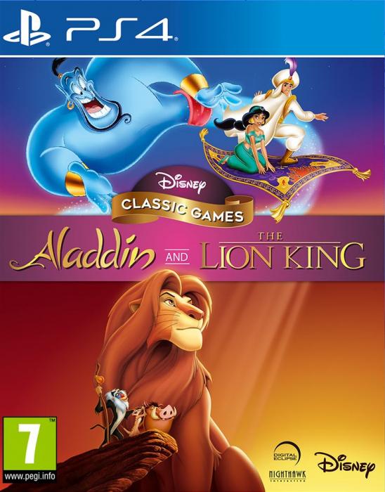 Disney Alladyn + Król Lew