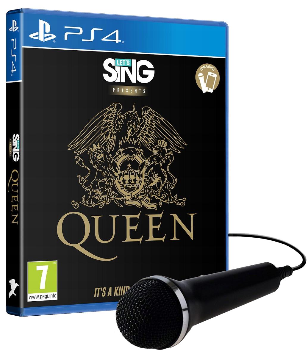 Let's Sing Queen + Mikrofon