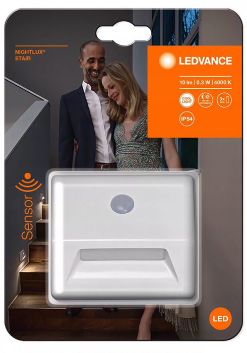 Lampka schodowa LEDVANCE NIGHTLUX Stair White
