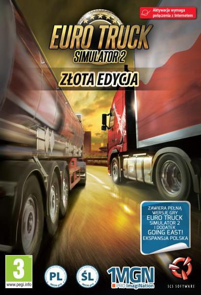 Euro Truck Simulator 2 Złota Edycja