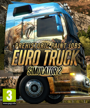 Euro Truck Simulator 2- Prehistoric Paint Jobs