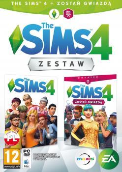 The Sims 4 + Zostań Gwiazdą (Zestaw)