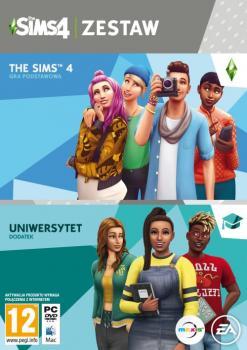 The Sims 4 + Uniwersytet (Zestaw)