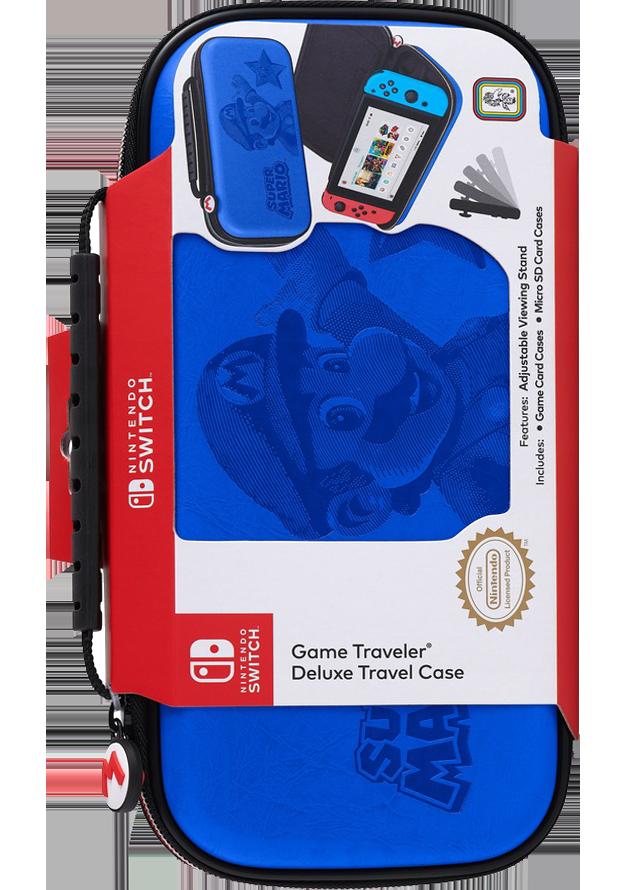BIG BEN Etui na konsolę Switch - Super Mario - niebieskie