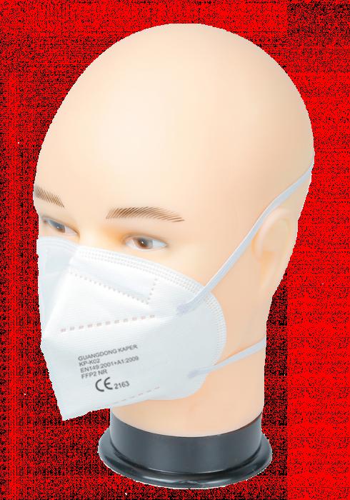 Półmaska filtrująca FFP2 5-warstwowa CE nagłowna