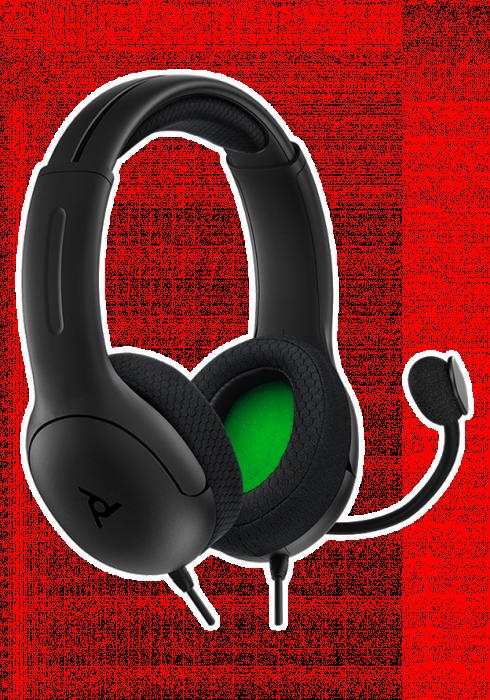 Słuchawki przewodowe PDP LVL40 v2 Stereo - Czarne - Xbox Series X/S/One/ PC