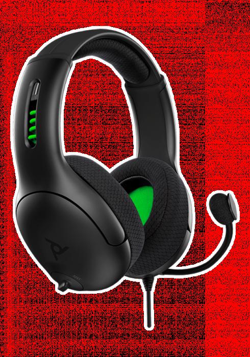 Słuchawki przewodowe PDP LVL50 v3 Stereo - Czarne - Xbox Series X/S/One/ PC