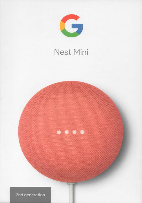 Głośnik Google Nest Mini 2 Generacja