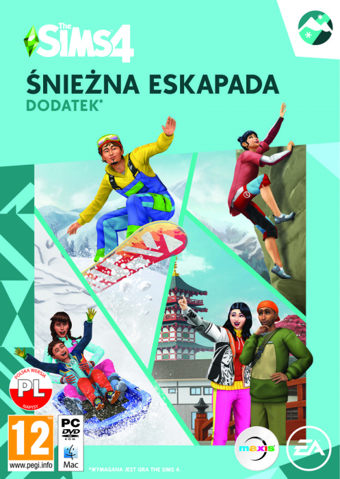 The Sims 4 Śnieżna Eskapada