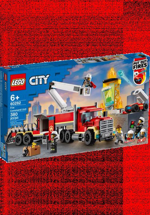 LEGO City Strażacka jednostka dowodzenia 60282