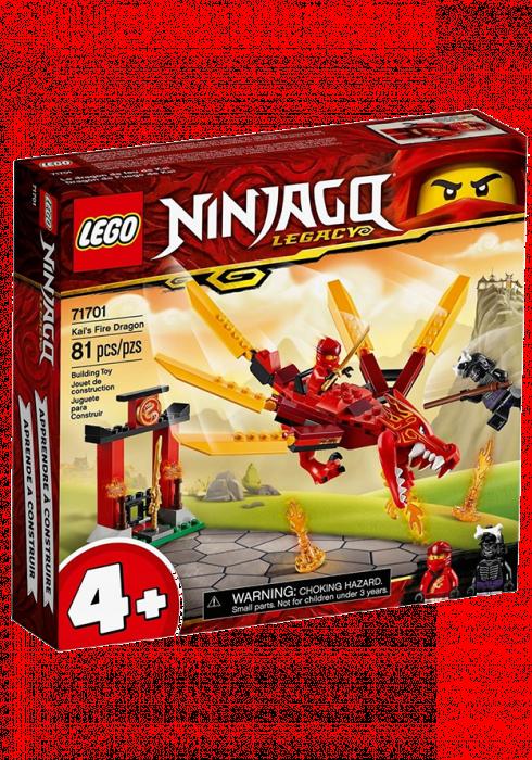 LEGO Ninjago Smok ognia Kaia 71701