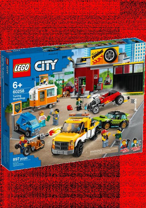 LEGO City Warsztat Tuningowy 60258
