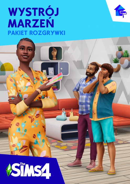 The Sims 4 Wystrój marzeń