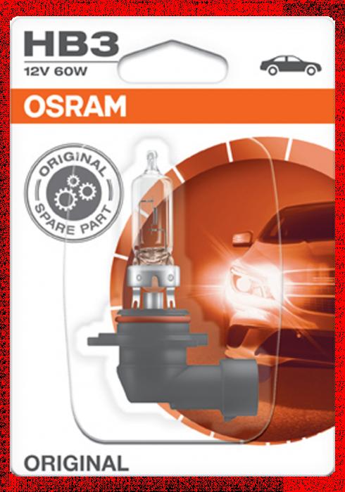 Żarówka samochodowa OSRAM HB3 STANDARD 12V 60W P20d