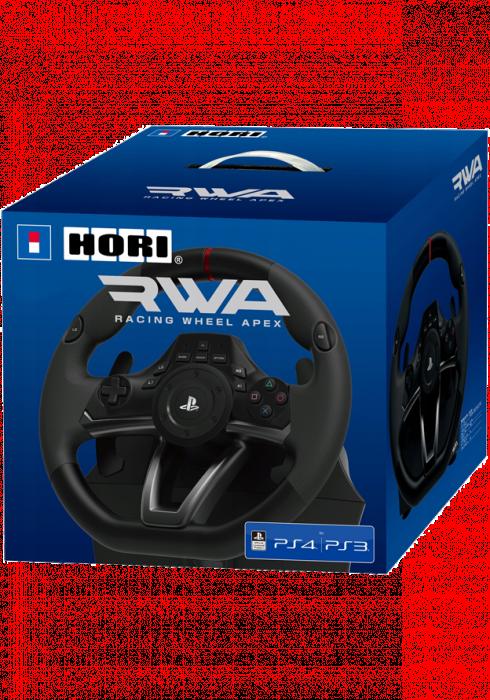 Kierownica HORI PlayStation 4: Racing Wheel Apex (Czarna)