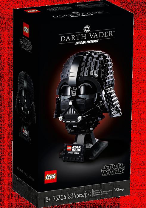 LEGO Star Wars Hełm Dartha Vadera 75304