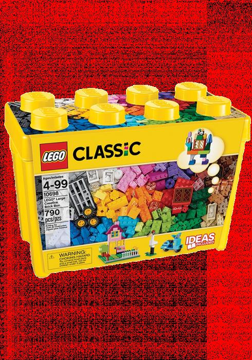 Lego Kreatywne klocki, duże pudełko 10698